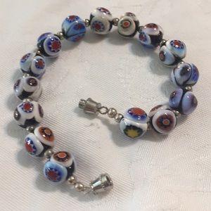 Millefiore Multicolor Bracelet